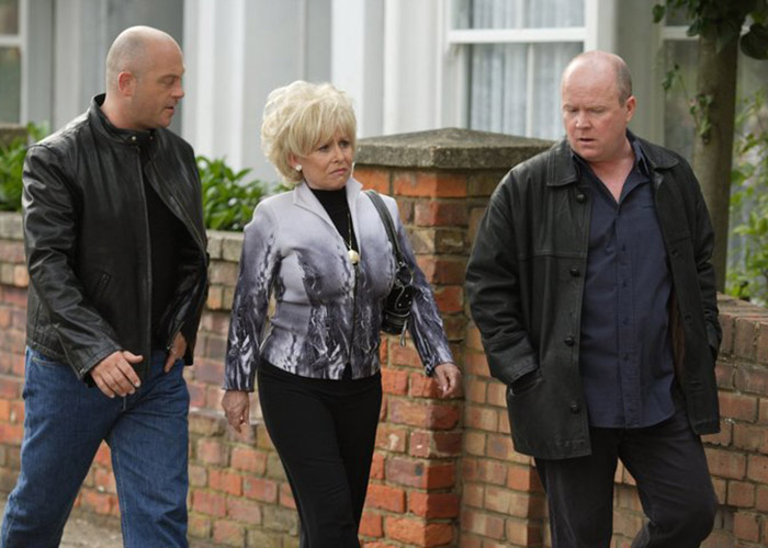 Ross Kemp will also return for Peggy Mitchelle's funeral. Pic: BBC