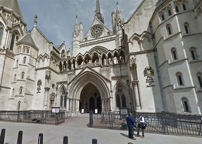 The case is being heard at the High Court, London
