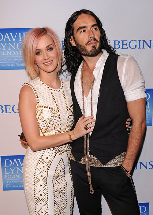 Russell and Katy divorced in 2012. Pic:Getty