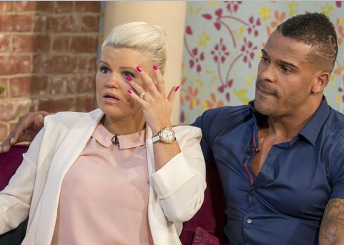 Kerry and George have a turbulent relationship. Pic: ITV