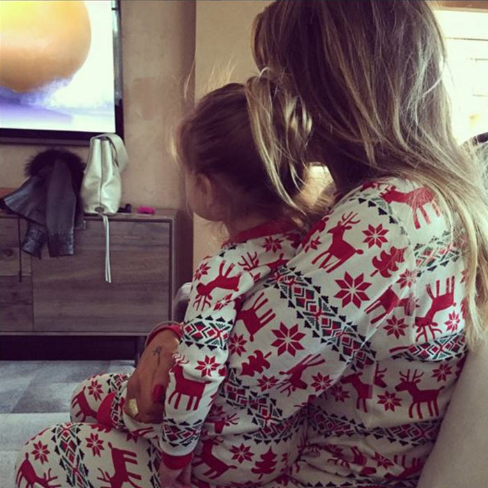 The Kardashians Are Obsessed With Matching PJs