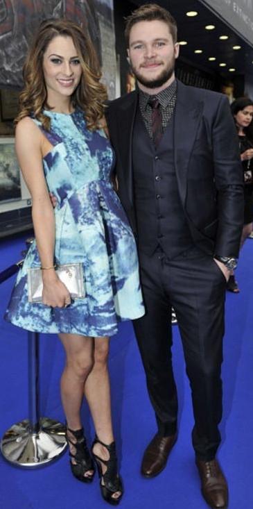 Madeline with her future husband Jack Reynor