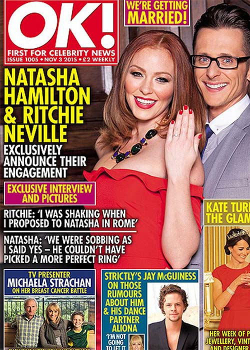 Natasha Hamilton and Ritchie Neville STILL living together despite split