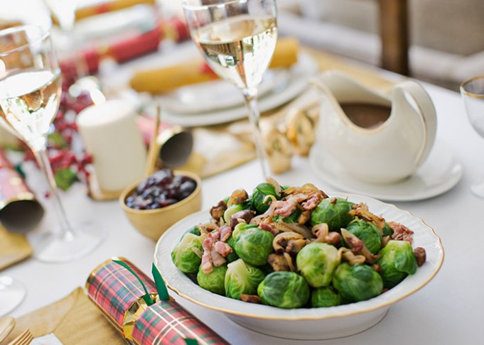 Classic Sprouts with Chestnuts