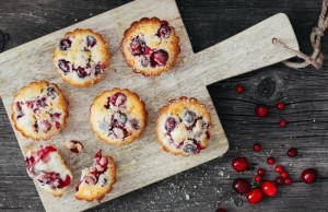 Cranberry with Orange Morning Muffins
