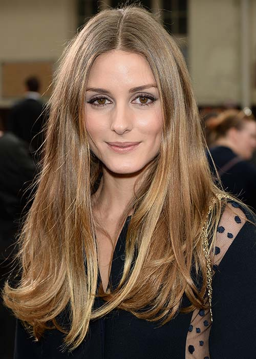 Olivia Palermo is famed for her glossy locks