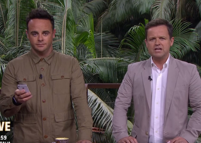 Ant and Dec are LOADED. Pic: ITV