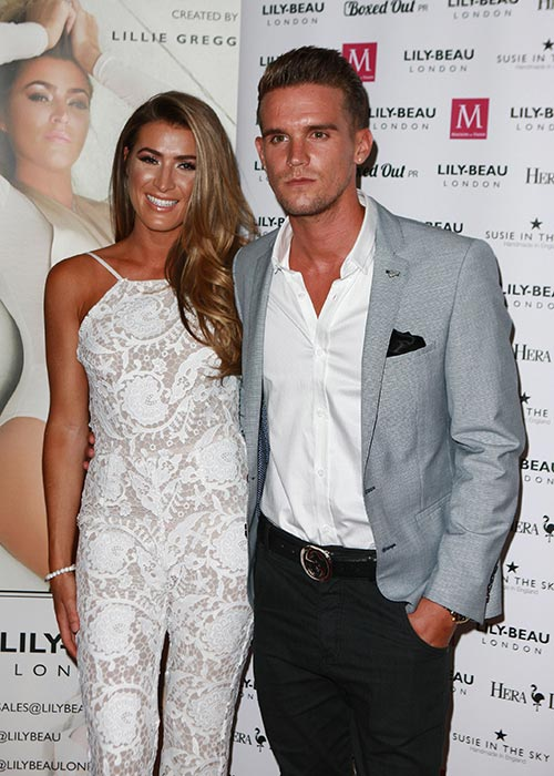 Gaz with his last GF who he unceremoniously dumped #boyfriendmaterial. Pic: File