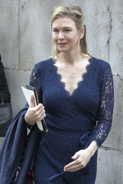 Bridget wore a prosthetic bump during filming. Pic: file