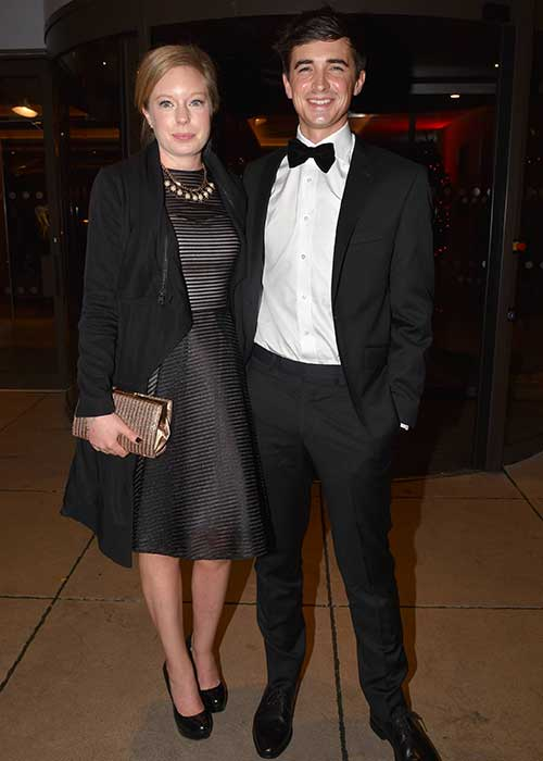 Donal and Sofie at the Bord Gais Energy Book Awards last year.