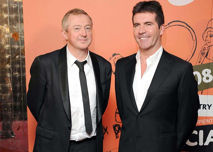 Louis also joked that if his hearing is bad, then so too is Simon Cowell's. Pic: File