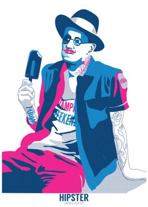 gary-reddin-print-dublin-hipster-james-joyce-332x470