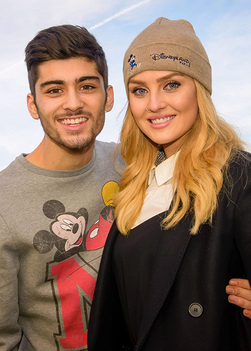 Zayn and Perrie in happier times. Pic: File