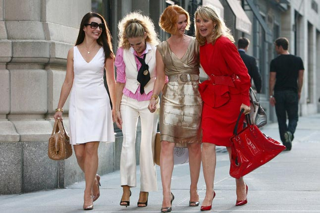 The SATC women must have been in bits!