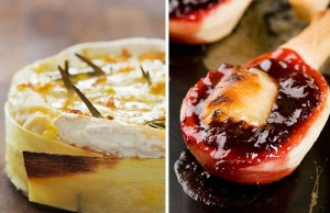 Baked Brie Pastries with Cranberry Filling