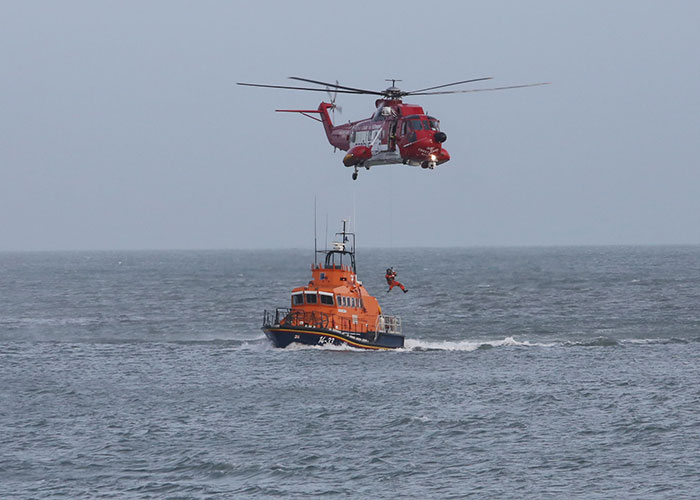 Seach and rescue team in Mulroy Bay recovered a body on Sunday morning. Pic: File