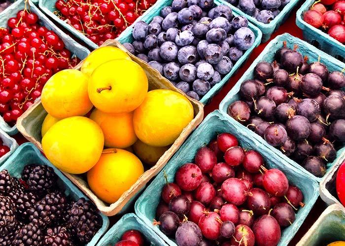Fresh Fruits. Antioxidants