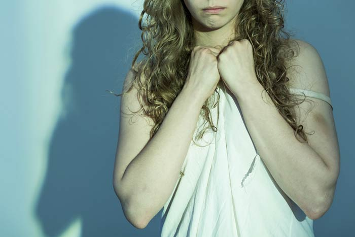 The woman was allegedly raped in her bedroom Pic: File