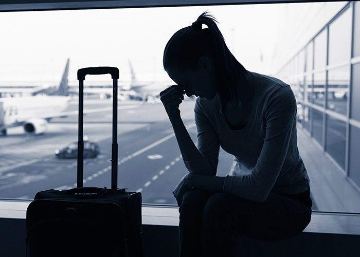 Stock image of woman going abroad fro an abortion Pic: Shutterstock