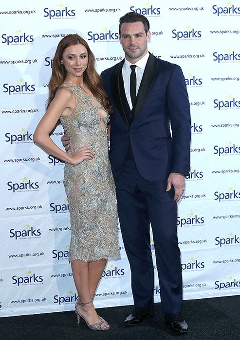 Una on the red carpet with her husband Ben Foden