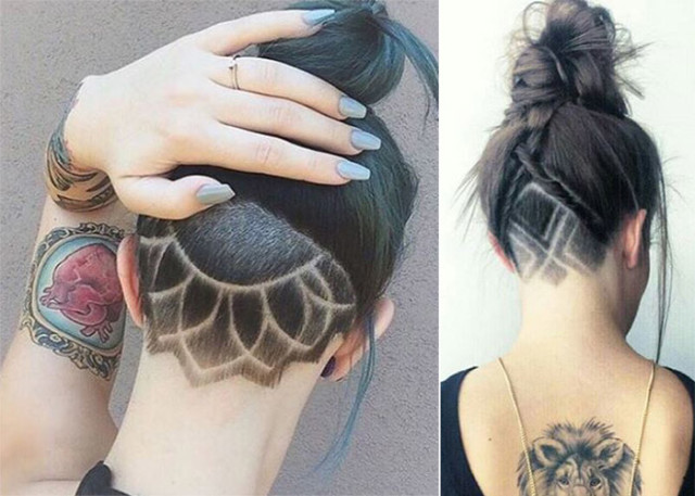 Hair Style Design: Hidden Hair Tattoos Are The Latest Trend You Have To Try