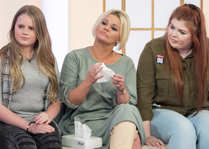 Kerry Katona's Daughters Discuss Mental Health On Loose Women