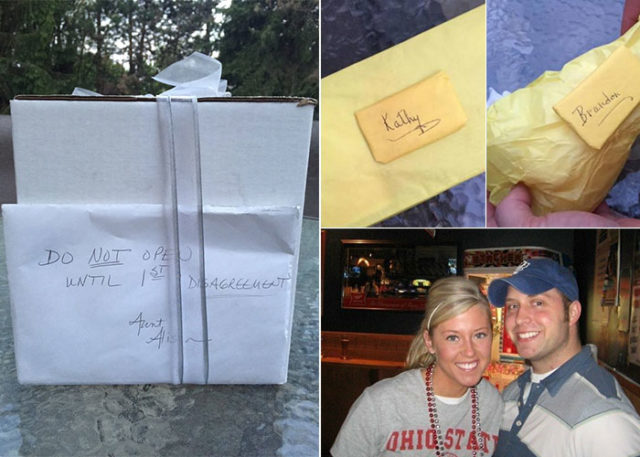 Opening Wedding Gifts: Couple Wait 9 Years To Open Thoughtful Mystery Wedding