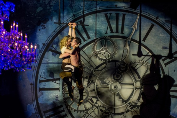 Steampunk Duo Aerial Trapeze