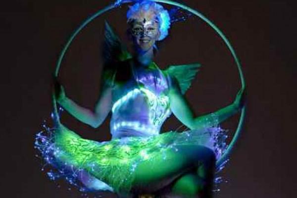 Christmas Aerial Fairy Hoop