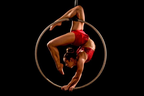 Red Hot Aerial Hoop
