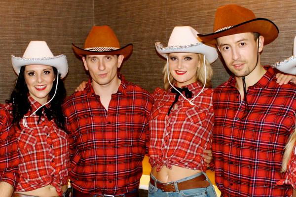 Wild West Line Dancers