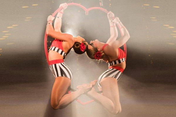 Aerial Heart Duo Hoop