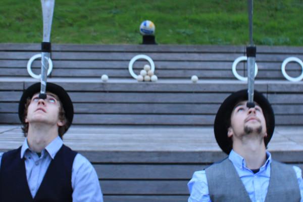 Acrobat Jugglers