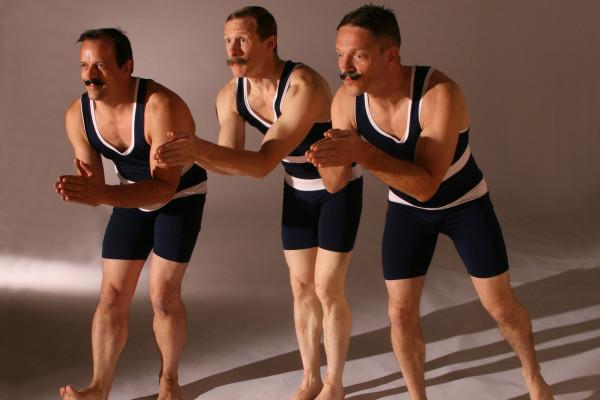 Acro Edwardian Bathers