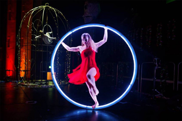 LED CYR Wheel