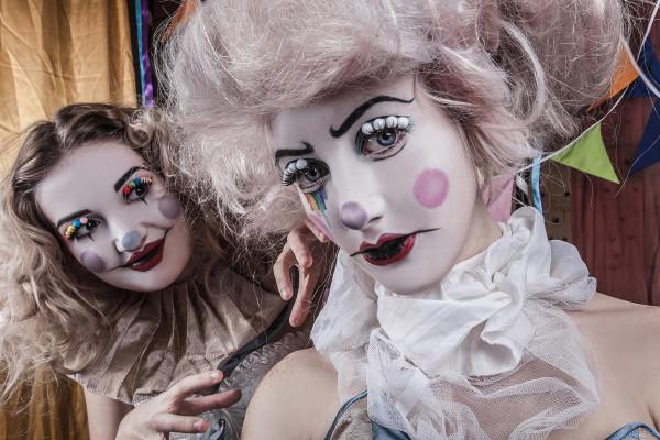 Vintage Circus Clowns