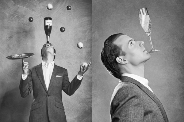 The Champagne Juggler
