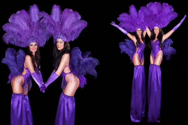 Showgirl Stilt Walkers