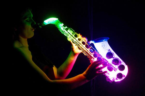The Neon Glow Sax