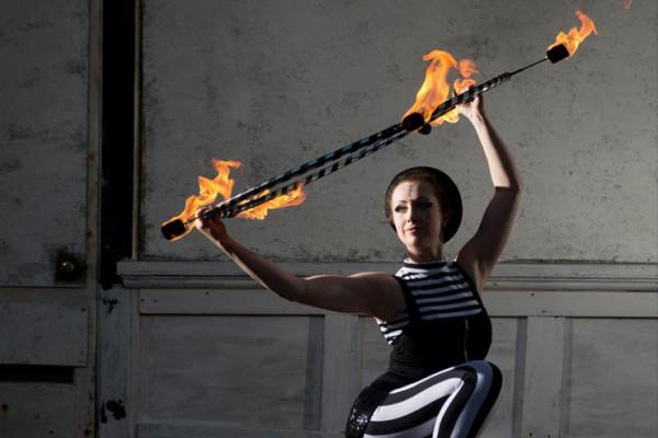 Fiery Hula Hoop