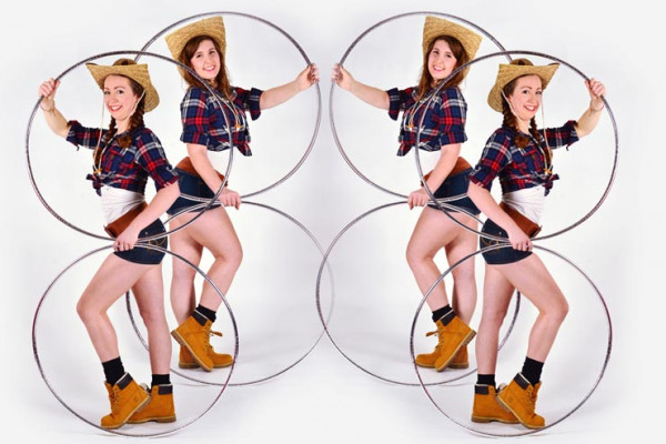 The Hula Hoop Cowgirl