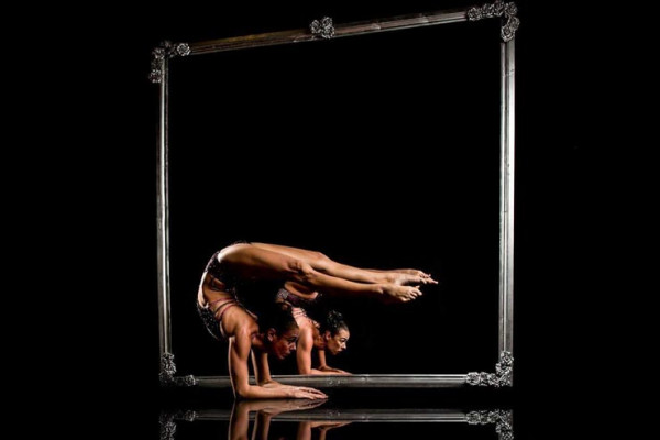 Mirror Image Pole Duet