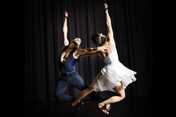 Aerial Straps Tango Duo