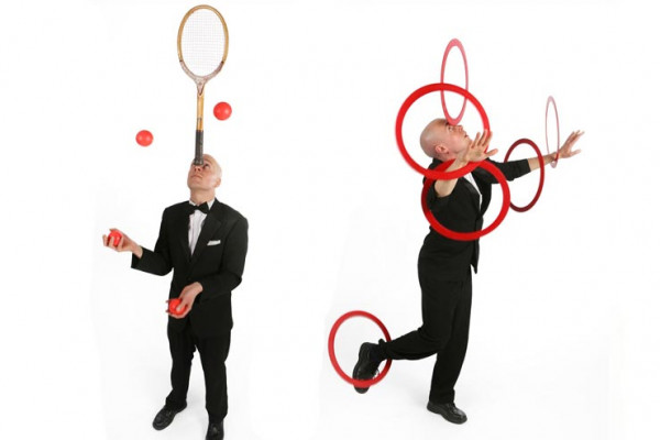 The Suave Gentleman Juggler