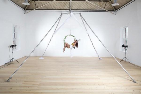 Freestanding Aerial Rig