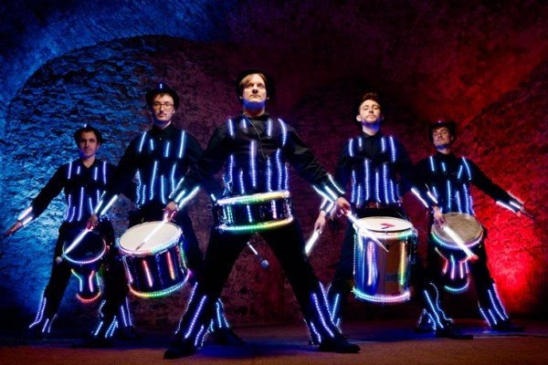 The Glow Drummers