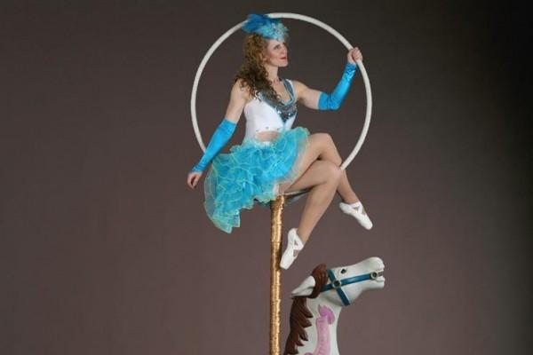 Circus Carousel Aerial Hoop