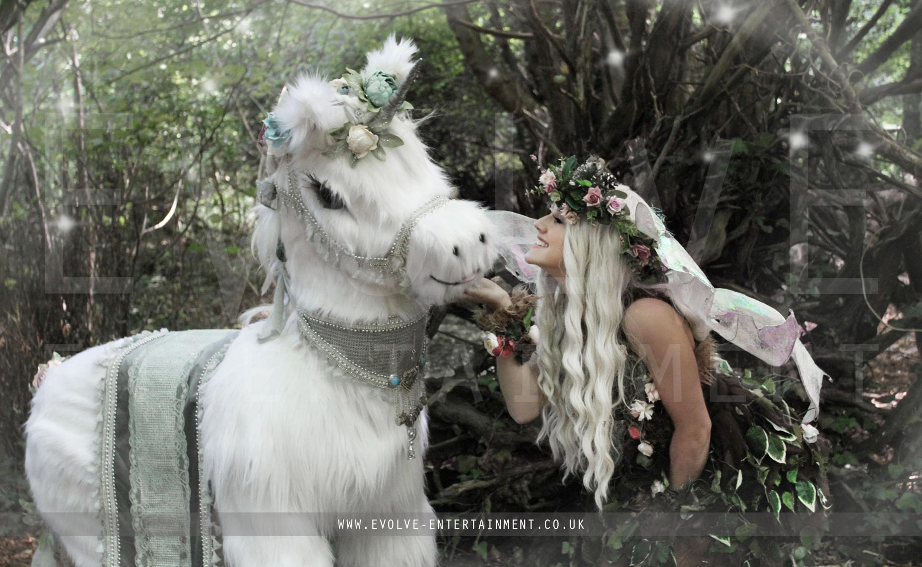 Real Life Unicorn | Bespoke Event Entertainment | Evolve