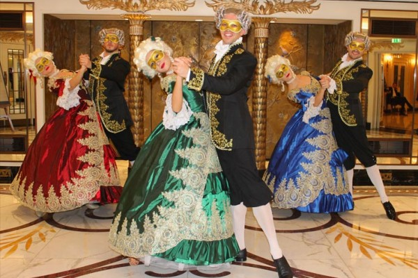 Venetian Masquerade Dance Show