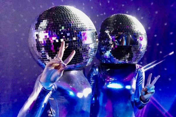 Glitterball Heads